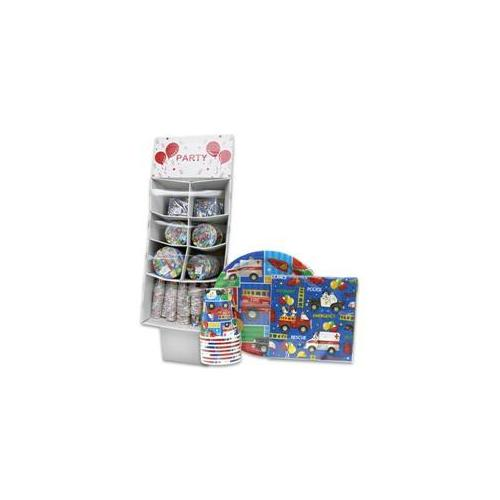 DDI Rescue Boy Party Goods Display- Case of 228