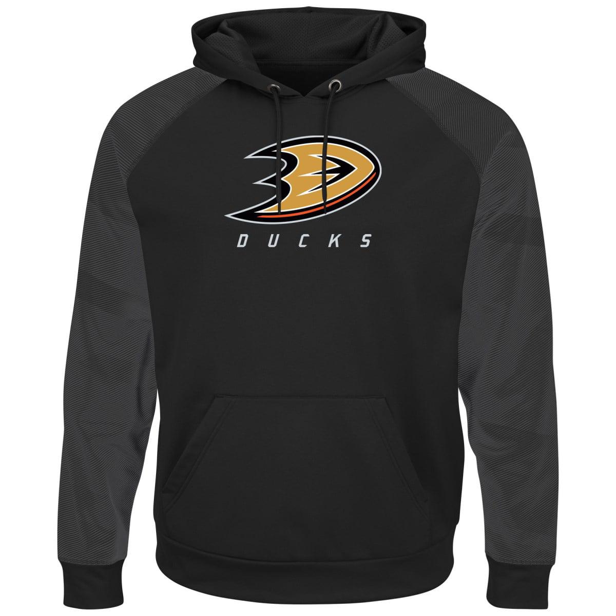 "Anaheim Ducks Majestic NHL ""Penalty Shot"" Men's Hooded Therma Base Sweatshirt"