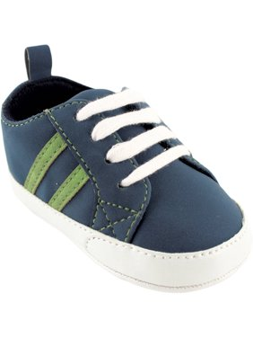 Newborn Baby Boys' Canvas Sneakers, Choose Your Color & Size