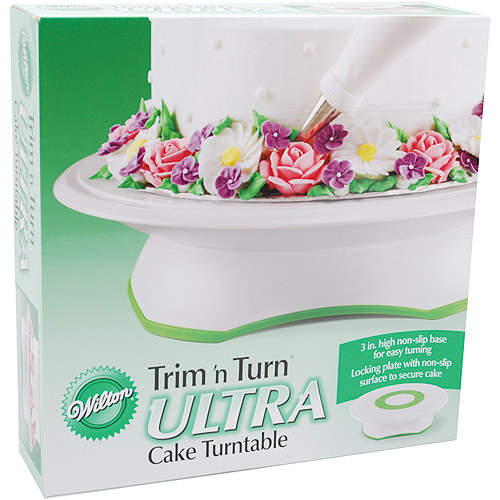 "Wilton Trim 'n Turn 12"" Ultra Cake Turntable 307-301"