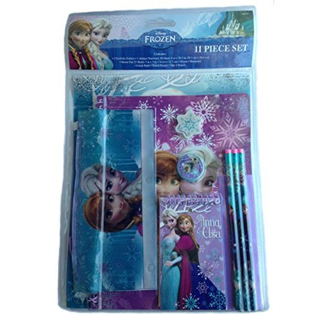 Disney Frozen Anna Elsa 11 Piece School Supply Stationary - Frozen Custom Invitations
