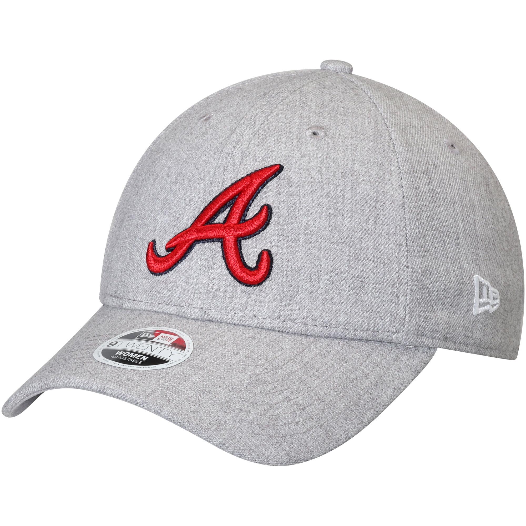 Atlanta Braves New Era Women's Preferred Pick 9TWENTY Adjustable Hat - Heathered Gray - OSFA