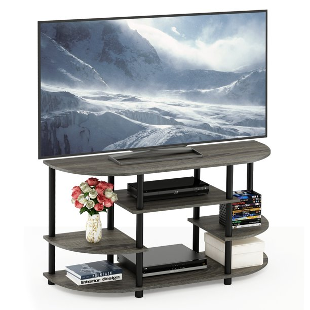 Furinno JAYA Simple Design No Tool TV Stand, Multiple Colors
