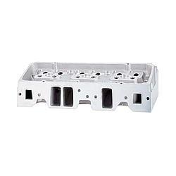 BRODIX IK 200 Bare Aluminum Cylinder Head SBC 2 pc P/N 1020000
