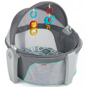 Fisher-Price On-the-Go Baby Dome, Grey Bubbles