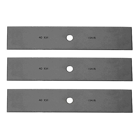 Oregon (3 Pack) Replacement Edger Blade Long 1/2 Center Hole # 40-131-3PK Replacement Center Blade
