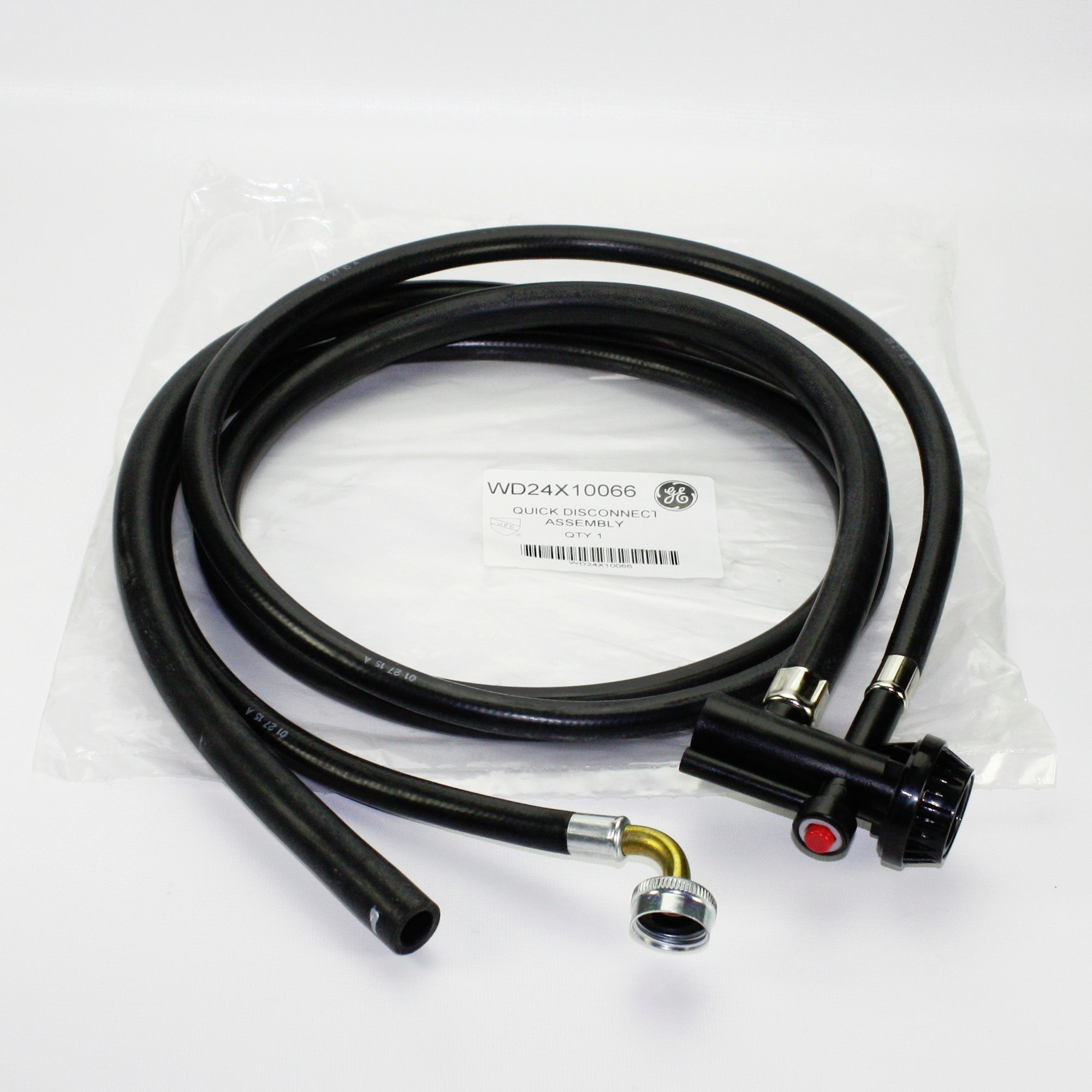 WD24X10066 For GE Portable Dishwasher Drain and Fill Hose