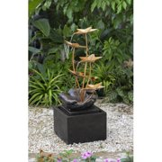 Jeco Inc. Resin/Fiberglass Flower Fountain