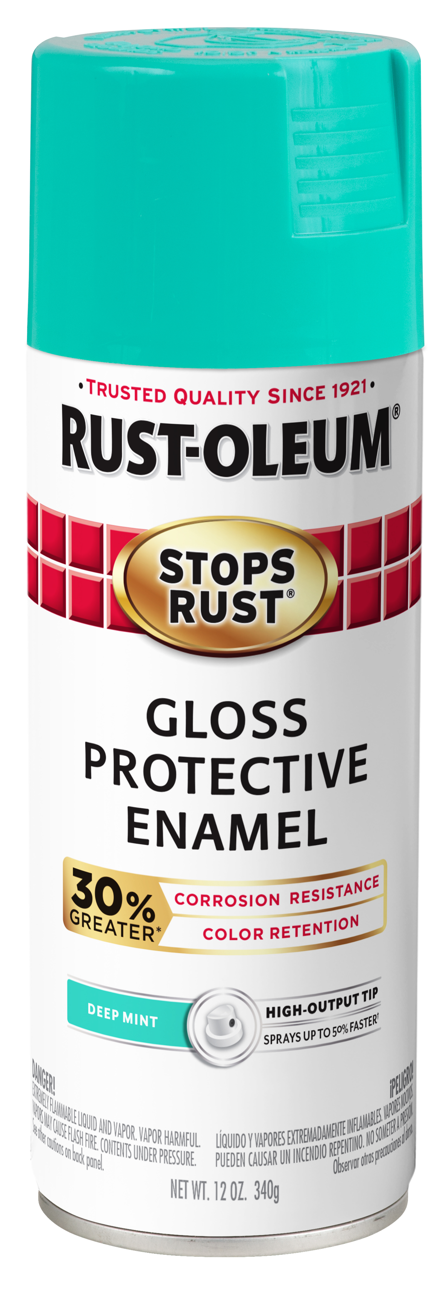 Rust-Oleum Stops Rust Advanced Gloss Deep Mint Protective