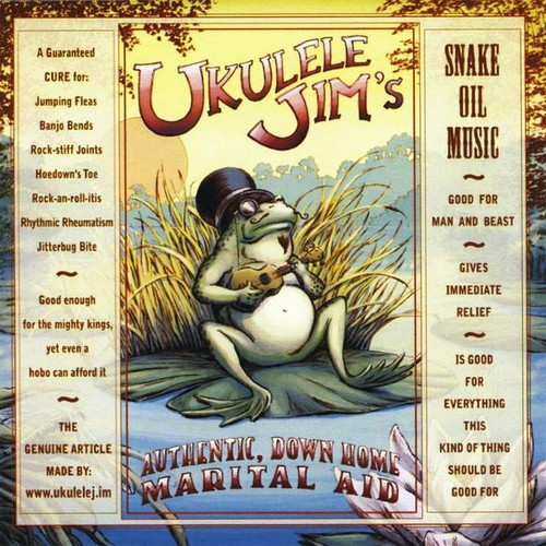 Ukulele Jim Ukulele Jim's Authentic Down Home Marital Aid [CD] by