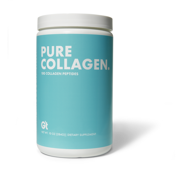 GT Pure Collagen Peptides Powder, 10,000 mg, 10 Oz.