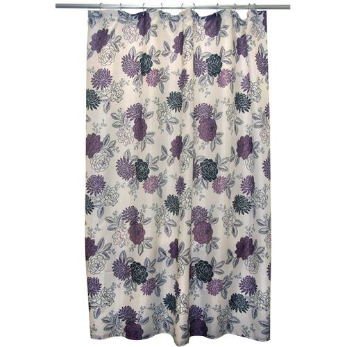 Famous Home Cheri Shower Curtain, Purple