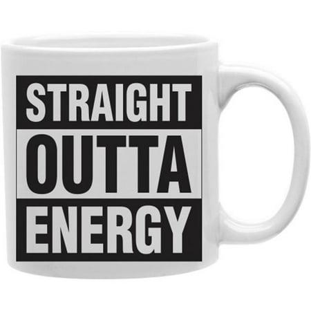 Imaginarium Goods CMG11-IGC-ENERGY Straight Outta Energy 11 oz Ceramic Coffee