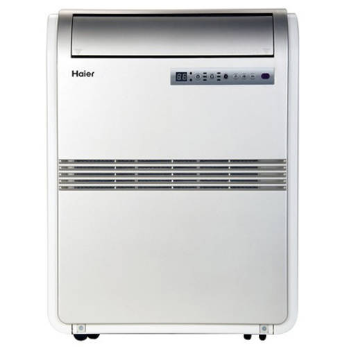 Haier 8,000 BTU Portable Air Conditioner 115V with Remote, Silver, Factory-Reconditioned