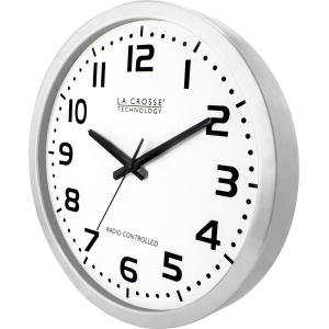 16 METAL ATOMIC ANALOG WALL CLOCK