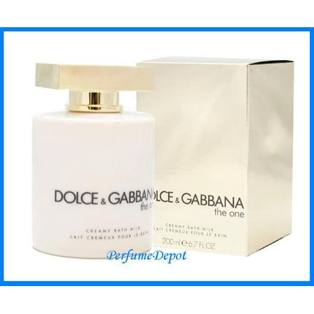 THE ONE Dolce & Gabbana 6.7 oz Perfumed Bath Milk NIB