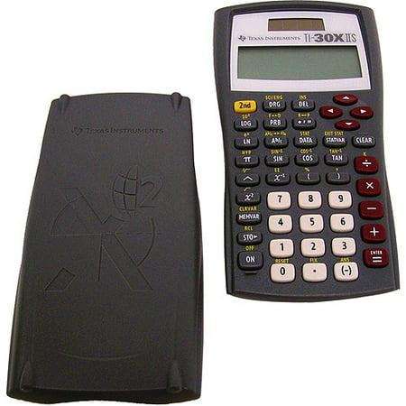 Texas Instruments Ti 30xiis Solar Scientific Calculator Grey