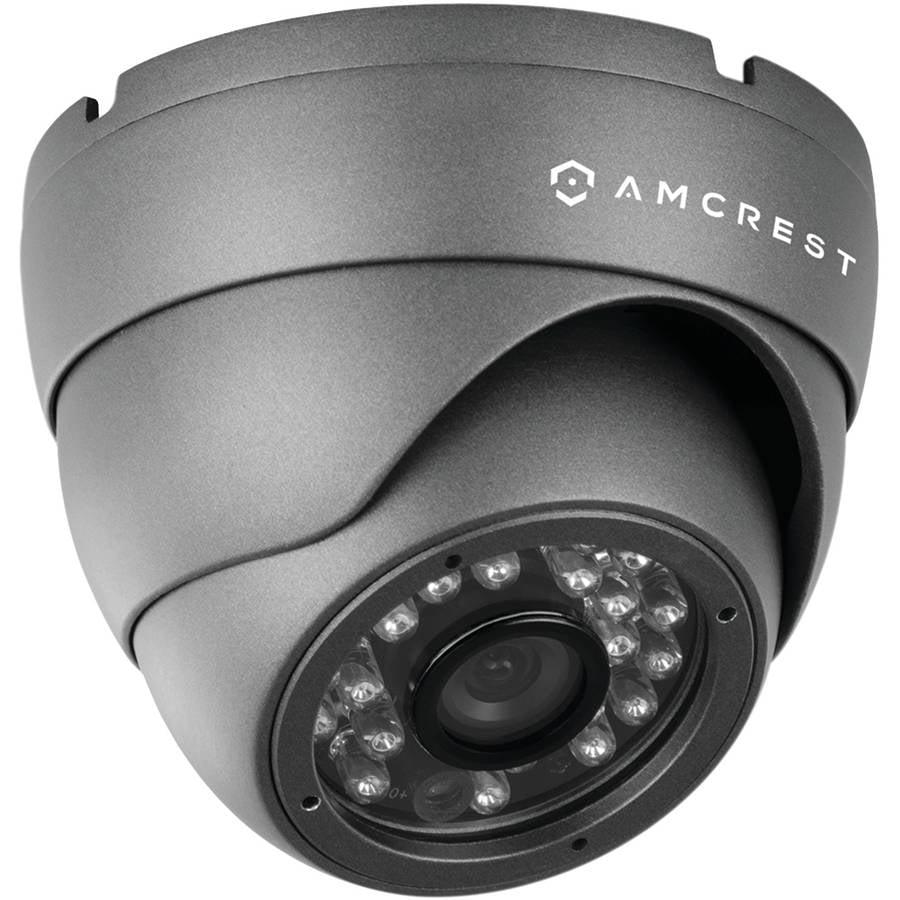 Amcrest AMC960HDC36-B 960H 800+ TVL Standalone Dome Camera, Black