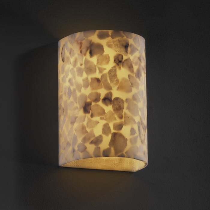 Justice Design Group Alr 1265 Wall Sconce From The Alabaster Rocks