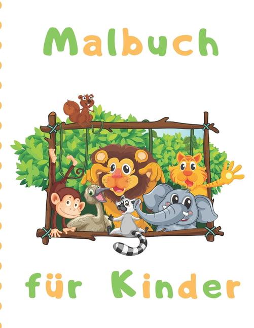malbuch für kinder  einfache malvorlagen für kleine hände