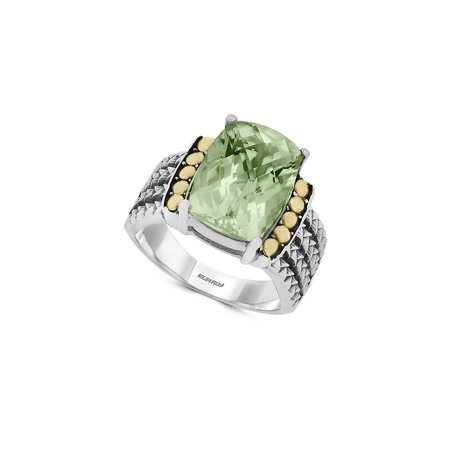 18K Goldplated, Green Amethyst Sterling Silver - Clothing With Lights