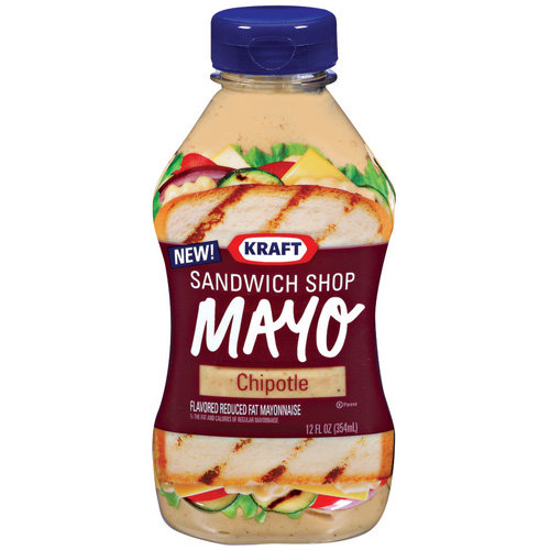 Kraft Mayo: Sandwich Shop Chipotle Mayonnaise, 12 Oz