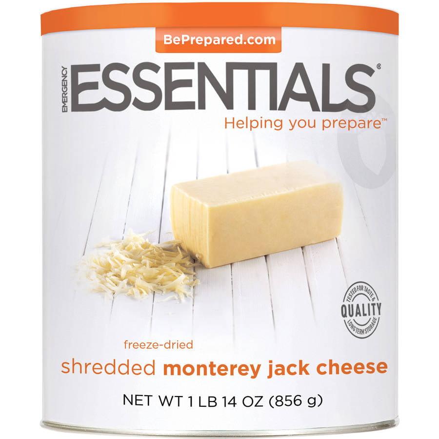 Emergency Essentials Freeze-Dried Shredded Monterey Jack Cheese, 30 oz by Emergency Essentials