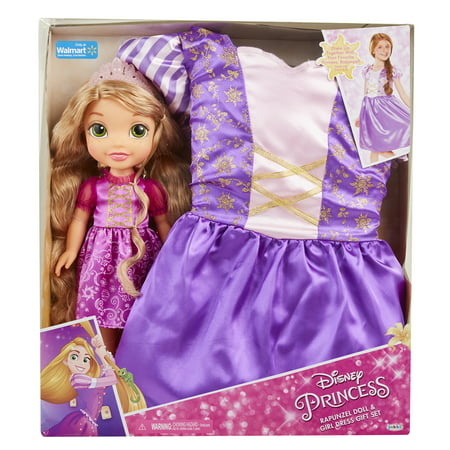 Disney Princess Rapunzel Toddler Doll and Dress