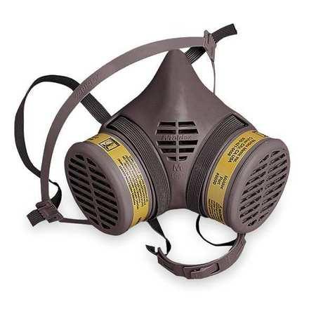 MOLDEX Half Mask Respirator,Snap in Gasket,M 8602