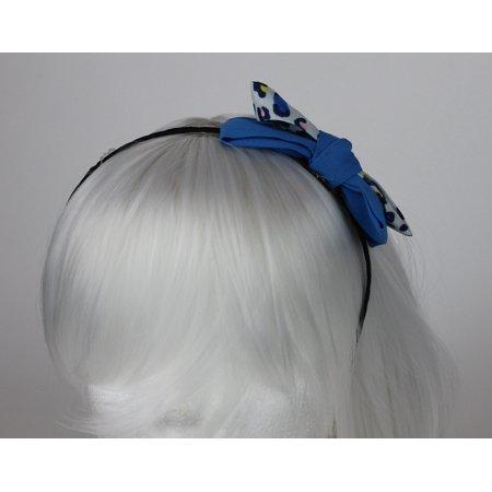 Long Flapper Hair (Beautiful Handmade Boho Flapper Cheetah Bow Headband Hair)