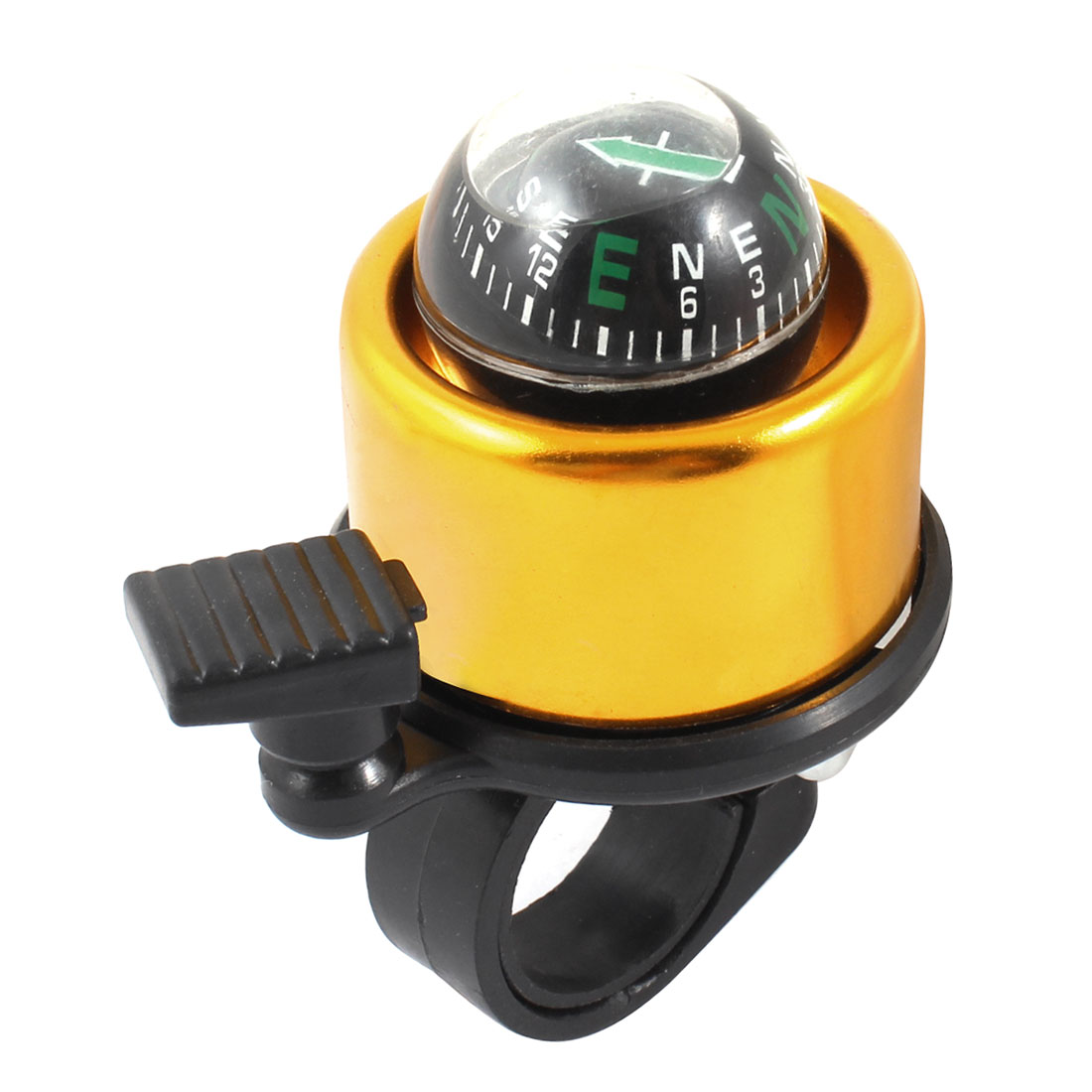 Bicycle Bike Cycling Black Handlebar Compass Ring Bell
