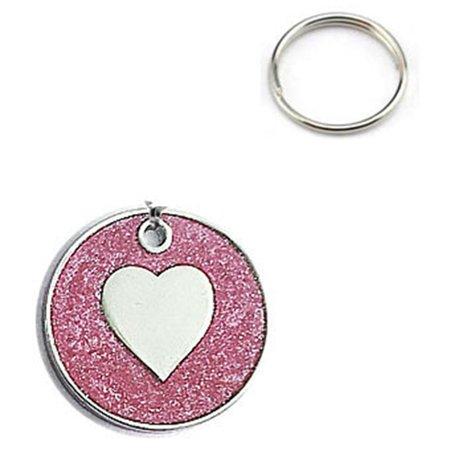 AkoaDa 1Pcs Lovely Heart Fish Bone Pattern Cat ID Tag Necklace Decorative Name Telephone ID Pendant Metal Pet Dogs Collar