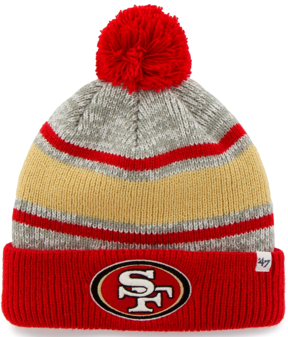 "San Francisco 49ers 47 Brand NFL ""Palmer"" Cuffed Knit Hat by 47 Brand"