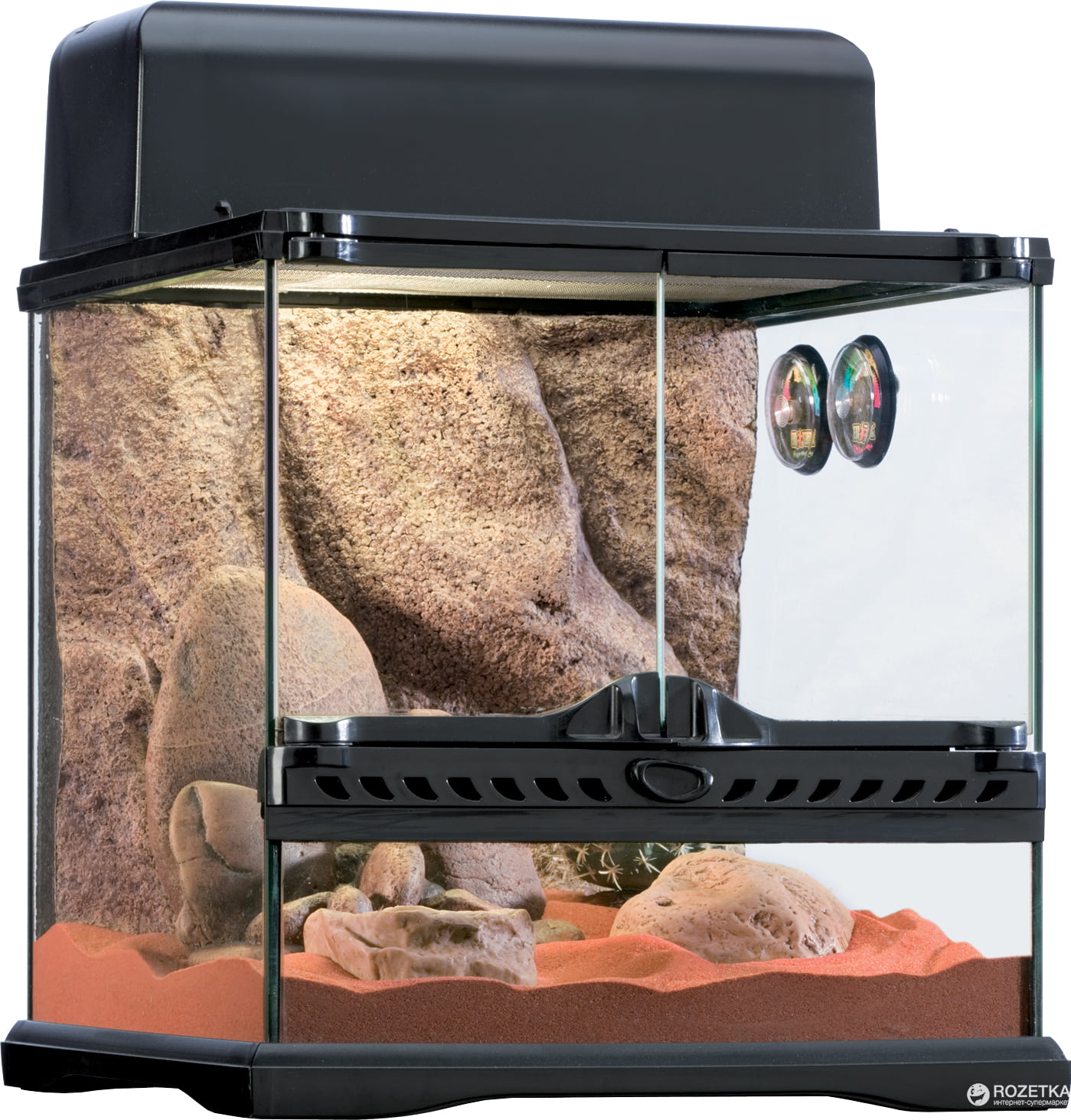 Exo Terra Small 7.5-Gallon Desert Reptile Habitat Kit by Hagen