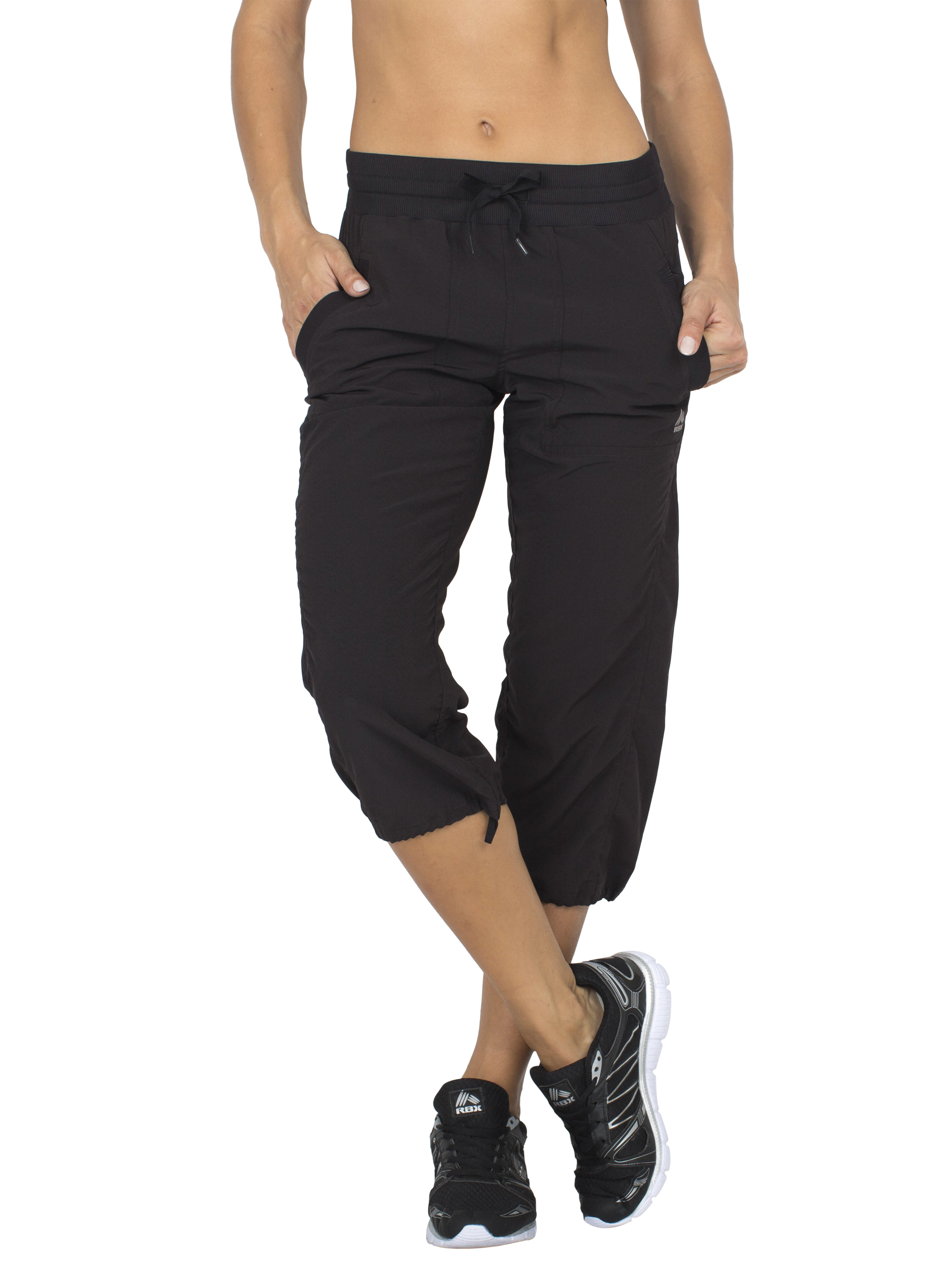RBX Active Women's Lightweight Body Skimming Drawstring Zumba Pant by RBX
