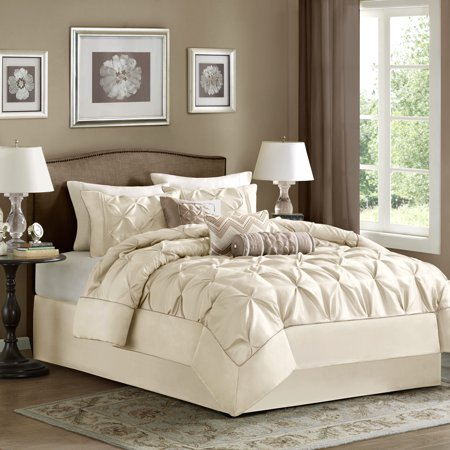 Piedmont Comforter Set (King) Ivory - 7pc