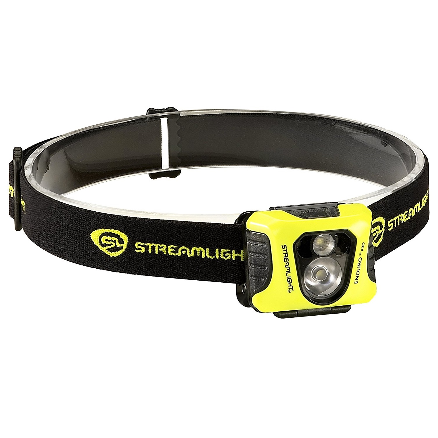Streamlight Enduro Pro Headlamp, Red Wht LEDs, Yellow Blk by Streamlight