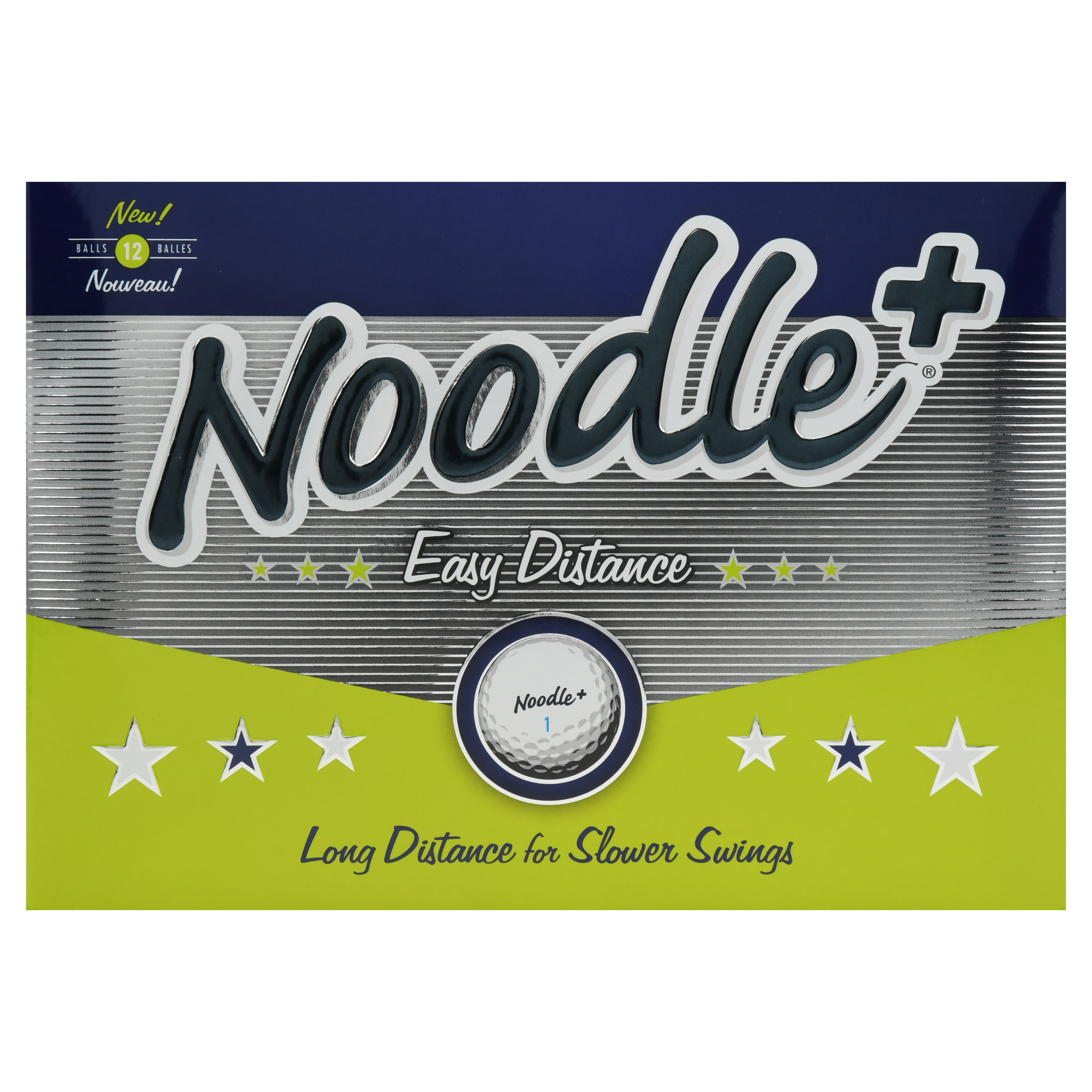 Noodle Plus Easy Distance Golf Balls (1 Dozen)
