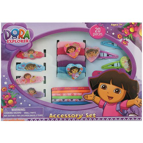 20 Piece Accessory Set By Dora the Explorer by