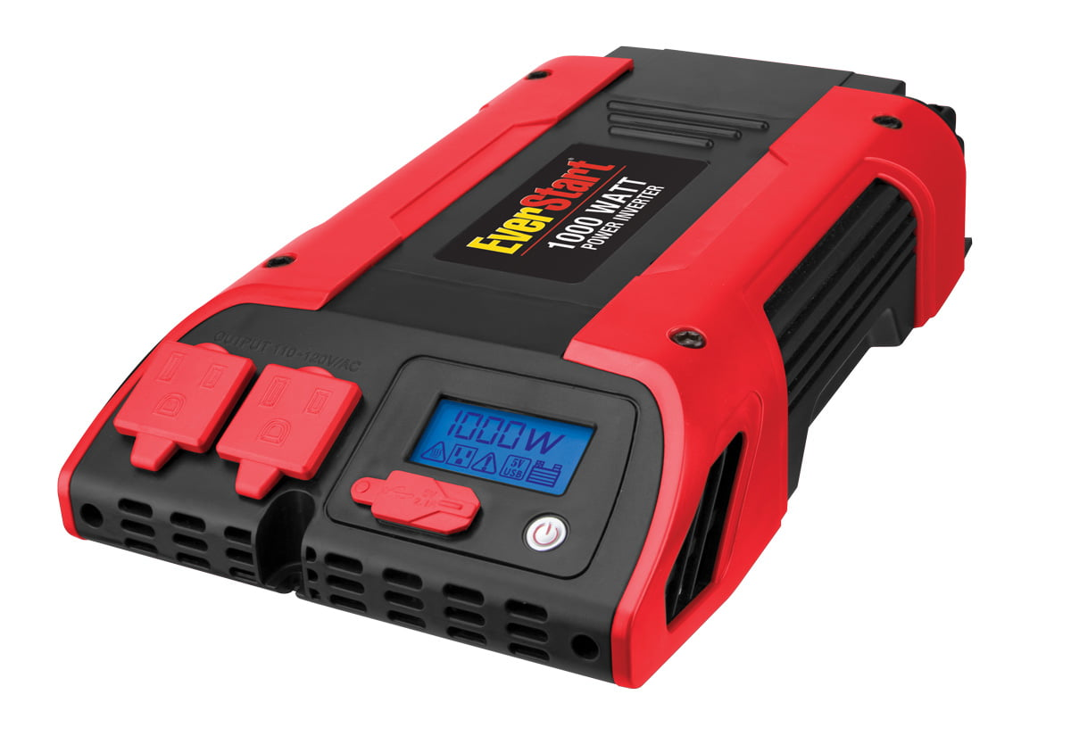EVERSTART 1000 Watt Power Inverter w/USB (PC1000E) - Walmart com