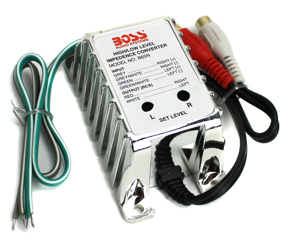 Boss Audio B65n High Level To Low Converter Kia Wiring