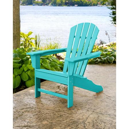 US Leisure Resin Adirondack Plastic Patio Furniture Chair ...