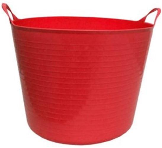 Tuff Stuff Products Inc-Flex Tub- Red 4.2 Gallon