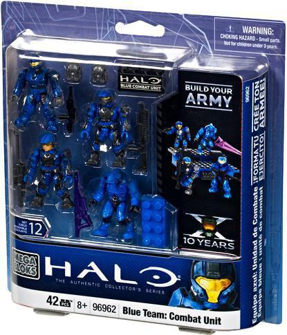 Halo Blue Team: Combat Unit Set Mega Bloks 96962 by