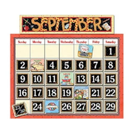 Teacher Created Resources Classroom Bulletin Board Calendar