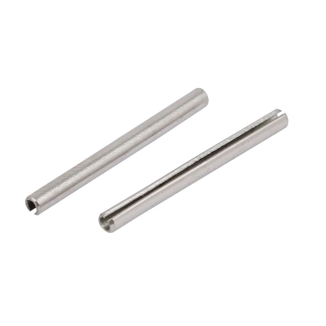 Unique Bargains M1.5x20mm 304 Stainless Steel Split Spring Dowel Tension Roll Pin 40pcs - image 2 de 3