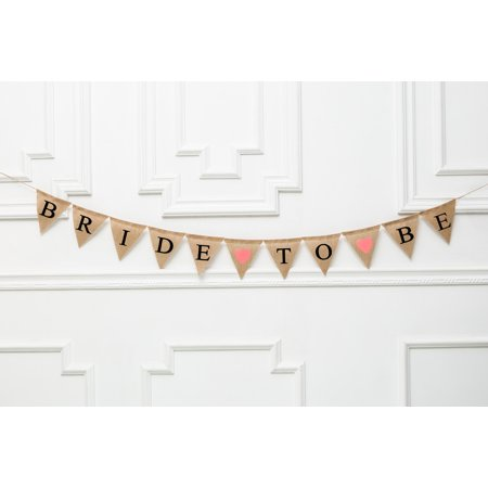 Bride To Be Banner (
