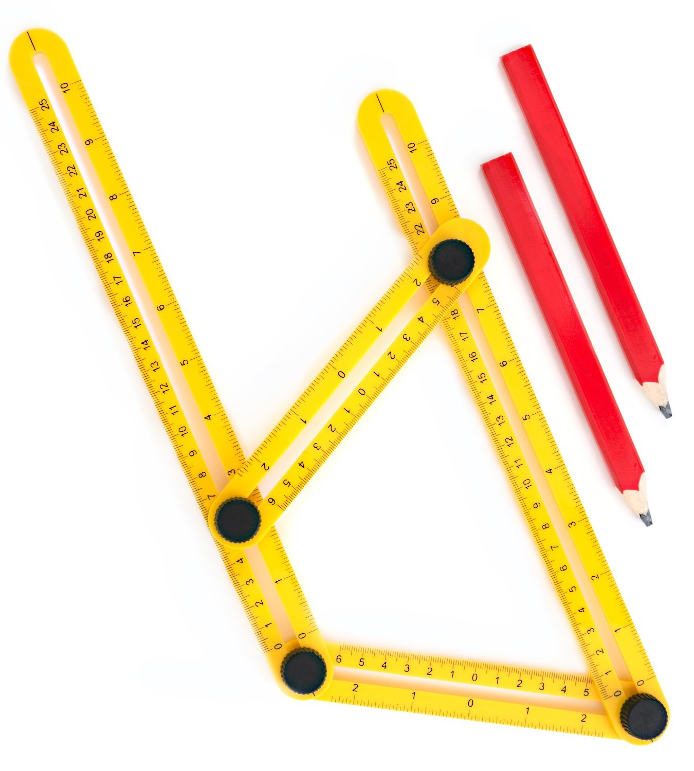 Angle Finder For Contractors, Handymen & DIY-ers | Multi-Angle Measuring Ruler | Maxform... by LIVEDITOR LIGHTING