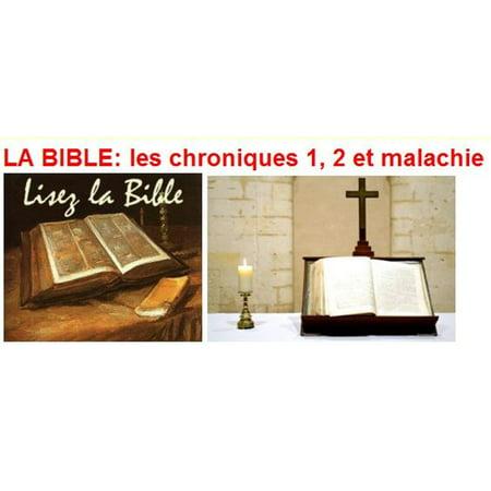 LA BIBLE: les chroniques 1, 2 et malachie - eBook](Halloween Et La Bible)