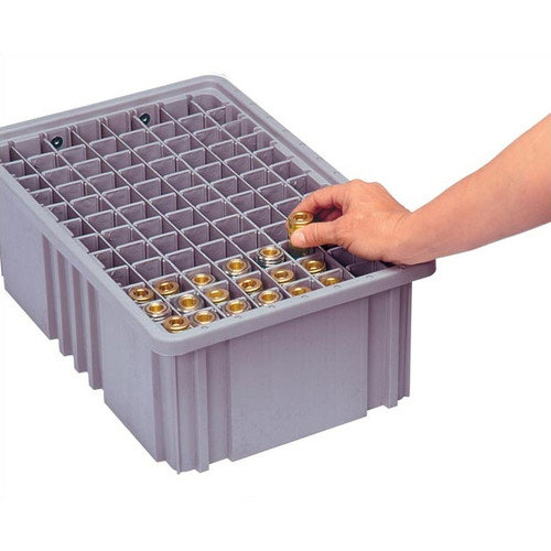 Quantum Storage Dividable Grid Storage Container Long Divider for DG92035 (Set of 6)